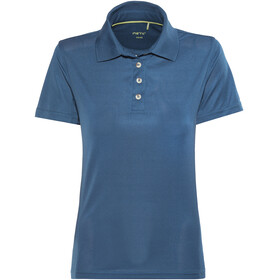 Meru Wembley Functional Polo Shirt Women Poseidon